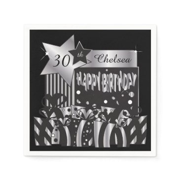designsbydonnasiggy Personalize Birthday Party Napkins