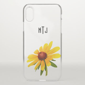 Personalize: Black-Eyed Susan Photography iPhone X Case
