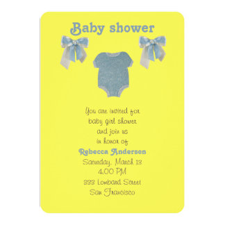 Personalize, Blue baby boy bodysuit Card
