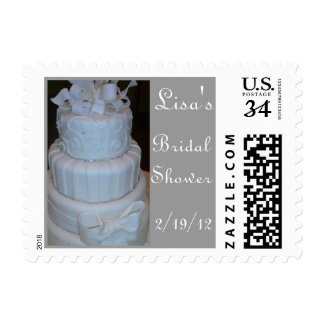 Personalize Bridal Shower postage stamp