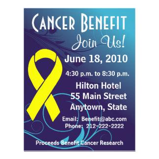 Personalize Cancer Benefit  - Bladder Cancer Flyer