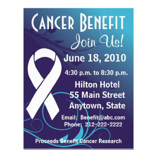 Personalize Cancer Benefit  - Bone Cancer Flyer