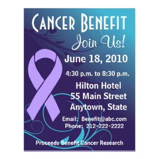 Personalize Cancer Benefit Flyer