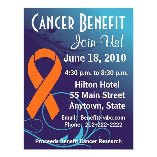 Personalize Cancer Benefit  - Leukemia Flyer