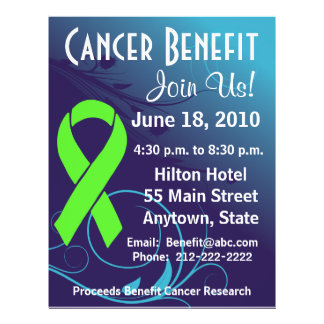 Personalize Cancer Benefit  Non-Hodgkin's Lymphoma Flyer