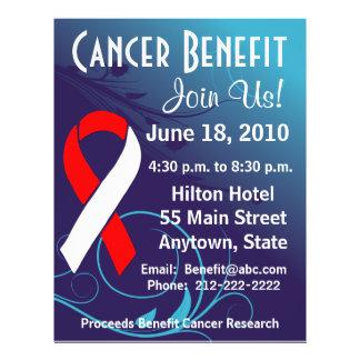 Personalize Cancer Benefit  - Oral Cancer Flyer