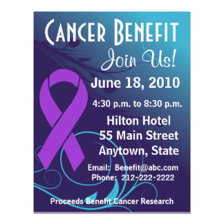 Personalize Cancer Benefit Pancreatic Cancer Flyer