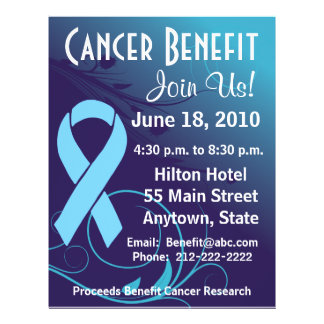 Personalize Cancer Benefit  - Prostate Cancer Flye Flyers