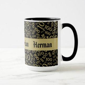 Personalize:  Centenarian, 100th Birthday Gift Mug