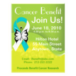 Personalize Cervical Cancer Fundraising Benefit Custom Flyer