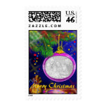Personalize Christmas Photo Postage