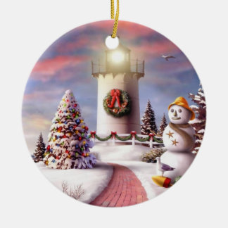 Personalize Christmas Presents Ornament