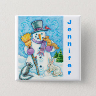 Personalize Christmas Stocking Buttons