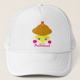 PERSONALIZE CHRISTMAS TRUCKER HAT