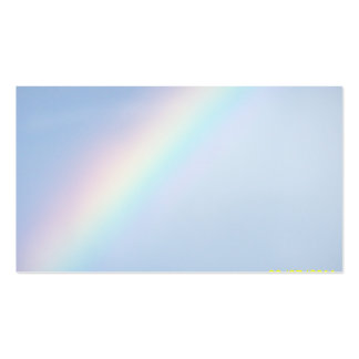Personalize Colorful Rainbow Business Cards