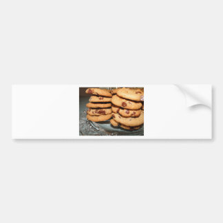 Personalize Cookies Dessert Chocolate Chip Sweets Car Bumper Sticker