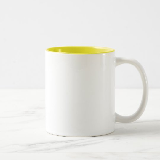 ♪♫♪ PERSONALIZE - CREATE YOUR OWN Two-Tone COFFEE MUG