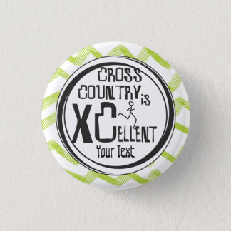 Personalize © Cross Country Running is XCellent Button