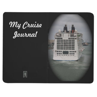 Personalize Cruise Ship Leaving Port Photo Journal