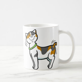 PERSONALIZE Cute Cat MOTHER'S DAY Classic White Coffee Mug