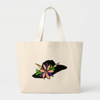 Personalize Cute Hat Tote Bag