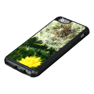 Personalize Dandelion flower Seed head Make a wish OtterBox iPhone 6/6s Case