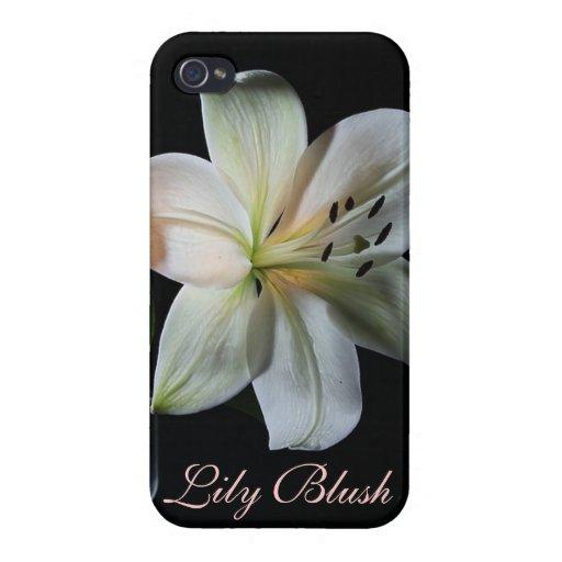 *personalize* de ruborización del caso del iPhone  iPhone 4 Carcasas