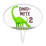 Personalize Dinosaur Birthday cake topper