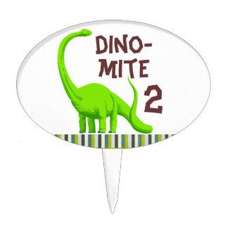 Personalize Dinosaur Birthday cake topper