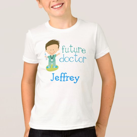 Personalize Doctor Kids Occupation Tee Shirt