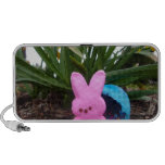 Personalize Easter Bunny Peace Love Art Destiny Speaker System