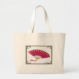 Personalize Elegant Fan Tote Bag