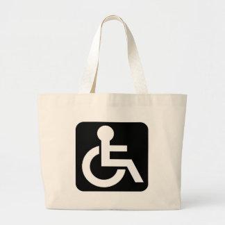 Personalize Elegant Sign Beach Boater Bag
