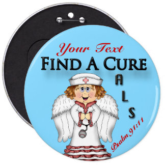 Personalize FAC Angel&  Button Pin