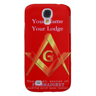 PERSONALIZE FATHER'S DAY GIFTS MASONIC & SHRINERS GALAXY S4 COVER