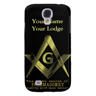 PERSONALIZE FATHER'S DAY GIFTS MASONIC & SHRINERS SAMSUNG GALAXY S4 COVER