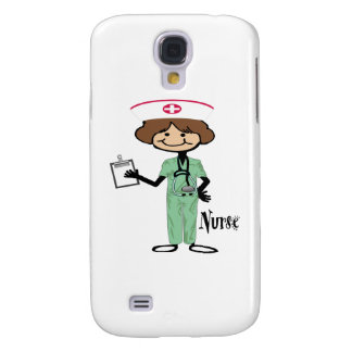 Personalize Female Nurse Samsung Galaxy S4 Cover