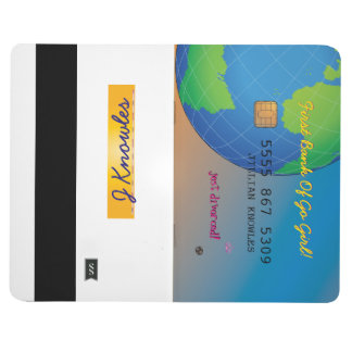 Personalize First Divorce Credit Card Journal