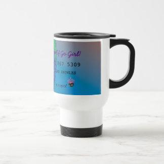 Personalize First Divorce Credit Card Travel Mug
