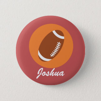 Personalize Football Button