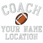 Personalize Football Coach Your Name Your Game! Embroidered Shirts