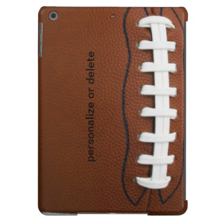 Personalize football iPad air cover
