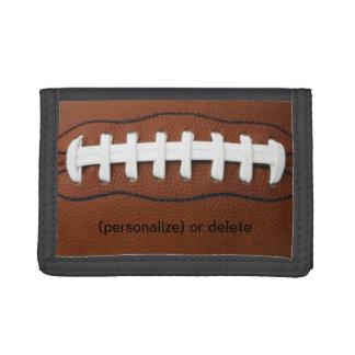Personalize football wallet