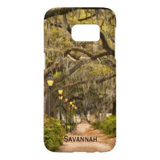 Personalize:  Forsyth Park, Savannah, Georgia Samsung Galaxy S7 Case