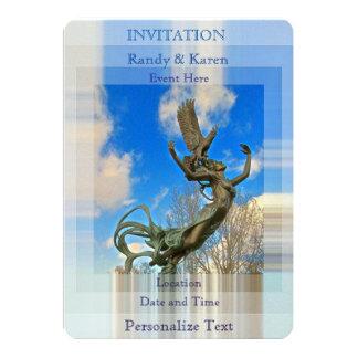 Personalize Free Spirit Invitations