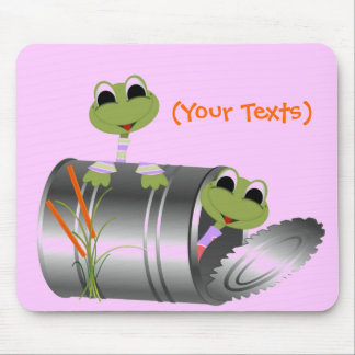 Personalize Frogs life MousePad