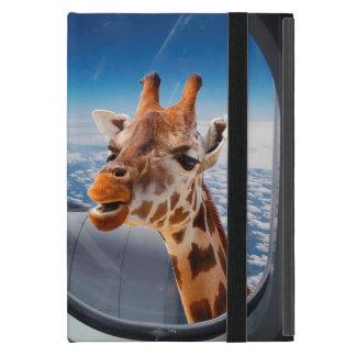 Personalize Funny Giraffe iPad Mini Case/Kickstand Cover For iPad Mini