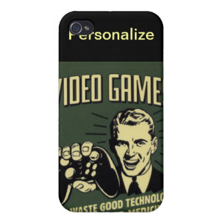PERSONALIZE GAMERS CASE FOR iPhone 4