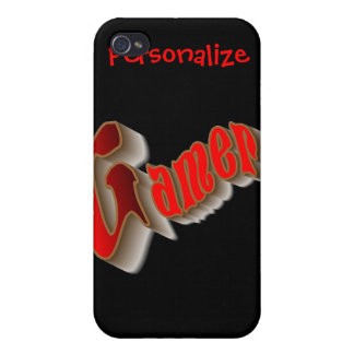 PERSONALIZE GAMERS iPhone 4/4S CASE