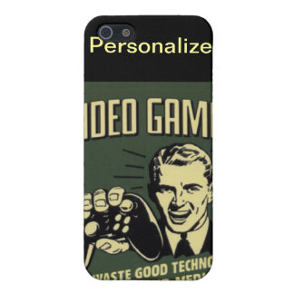 PERSONALIZE GAMERS iPhone 5/5S CASES